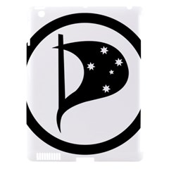 Logo Of Pirate Party Australia Apple Ipad 3/4 Hardshell Case (compatible With Smart Cover) by abbeyz71