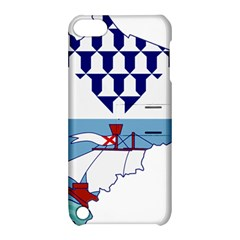 Flag Map Of Belfast Apple Ipod Touch 5 Hardshell Case With Stand by abbeyz71