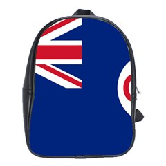 Government Ensign Of Northern Ireland, 1929 1973 School Bag (large) by abbeyz71