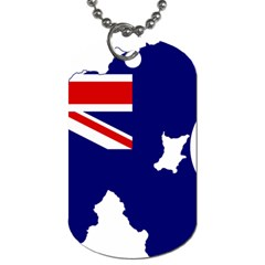 Flag Map Of Government Ensign Of Northern Ireland, 1929 1973 Dog Tag (two Sides)