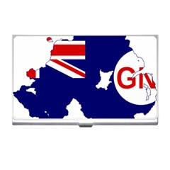 Flag Map Of Government Ensign Of Northern Ireland, 1929 1973 Business Card Holder