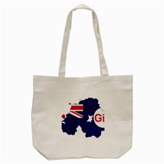 Flag Map Of Government Ensign Of Northern Ireland, 1929 1973 Tote Bag (cream)