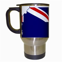 Flag Map Of Government Ensign Of Northern Ireland, 1929 1973 Travel Mugs (white) by abbeyz71