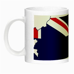 Flag Map Of Government Ensign Of Northern Ireland, 1929 1973 Night Luminous Mugs