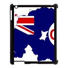 Flag Map Of Government Ensign Of Northern Ireland, 1929 1973 Apple Ipad 3/4 Case (black) by abbeyz71