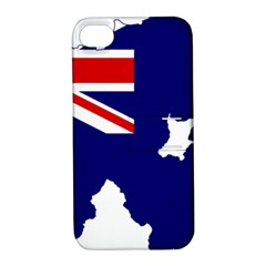 Flag Map Of Government Ensign Of Northern Ireland, 1929 1973 Apple Iphone 4/4s Hardshell Case With Stand