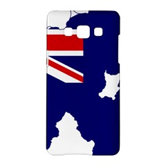 Flag Map Of Government Ensign Of Northern Ireland, 1929 1973 Samsung Galaxy A5 Hardshell Case  by abbeyz71