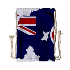 Flag Map Of Government Ensign Of Northern Ireland, 1929 1973 Drawstring Bag (small)