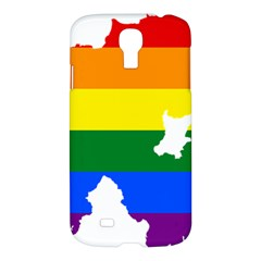 Lgbt Flag Map Of Northern Ireland Samsung Galaxy S4 I9500/i9505 Hardshell Case