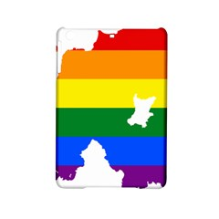 Lgbt Flag Map Of Northern Ireland Ipad Mini 2 Hardshell Cases by abbeyz71