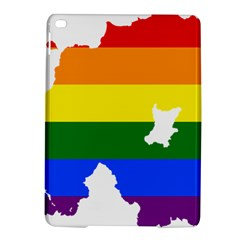 Lgbt Flag Map Of Northern Ireland Ipad Air 2 Hardshell Cases