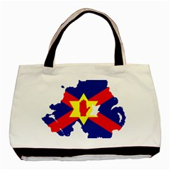 Ulster Nationalists Flag Map Of Northern Ireland Basic Tote Bag