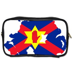 Ulster Nationalists Flag Map Of Northern Ireland Toiletries Bag (two Sides)