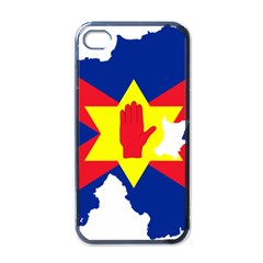 Ulster Nationalists Flag Map Of Northern Ireland Apple Iphone 4 Case (black)