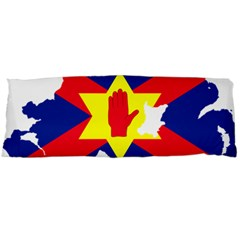 Ulster Nationalists Flag Map Of Northern Ireland Body Pillow Case (dakimakura)