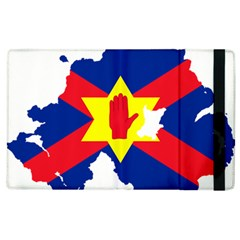 Ulster Nationalists Flag Map Of Northern Ireland Apple Ipad 3/4 Flip Case by abbeyz71