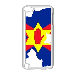 Ulster Nationalists Flag Map Of Northern Ireland Apple Ipod Touch 5 Case (white)
