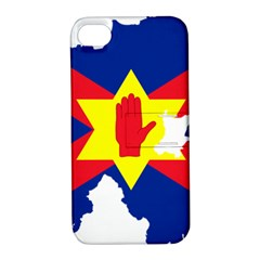 Ulster Nationalists Flag Map Of Northern Ireland Apple Iphone 4/4s Hardshell Case With Stand by abbeyz71