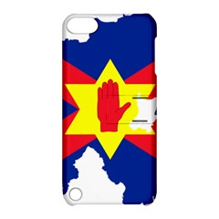 Ulster Nationalists Flag Map Of Northern Ireland Apple Ipod Touch 5 Hardshell Case With Stand