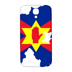 Ulster Nationalists Flag Map Of Northern Ireland Samsung Galaxy S4 I9500/i9505  Hardshell Back Case
