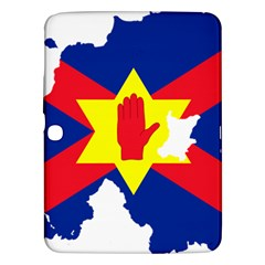 Ulster Nationalists Flag Map Of Northern Ireland Samsung Galaxy Tab 3 (10 1 ) P5200 Hardshell Case