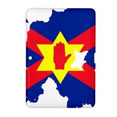 Ulster Nationalists Flag Map Of Northern Ireland Samsung Galaxy Tab 2 (10 1 ) P5100 Hardshell Case