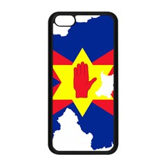 Ulster Nationalists Flag Map Of Northern Ireland Apple Iphone 5c Seamless Case (black)