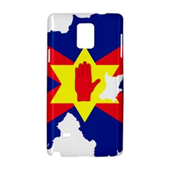 Ulster Nationalists Flag Map Of Northern Ireland Samsung Galaxy Note 4 Hardshell Case