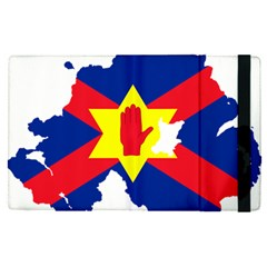 Ulster Nationalists Flag Map Of Northern Ireland Apple Ipad Pro 9 7   Flip Case
