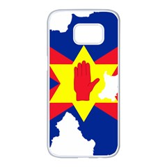 Ulster Nationalists Flag Map Of Northern Ireland Samsung Galaxy S7 Edge White Seamless Case