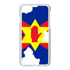 Ulster Nationalists Flag Map Of Northern Ireland Apple Iphone 7 Seamless Case (white)
