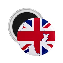 Union Jack Flag Map Of Northern Ireland 2 25  Magnets