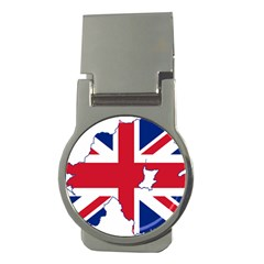 Union Jack Flag Map Of Northern Ireland Money Clips (round)  by abbeyz71
