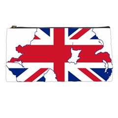 Union Jack Flag Map Of Northern Ireland Pencil Cases by abbeyz71