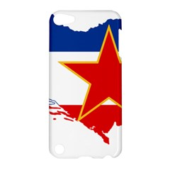 Flag Map Of Socialist Federal Republic Of Yugoslavia Apple Ipod Touch 5 Hardshell Case by abbeyz71