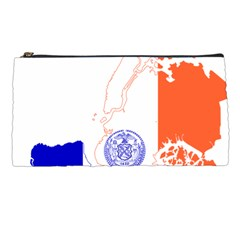 Flag Map Of New York City Pencil Cases by abbeyz71