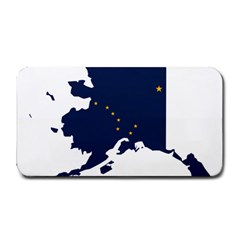 Flag Map Of Alaska Medium Bar Mats by abbeyz71