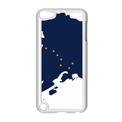 Flag Map Of Alaska Apple Ipod Touch 5 Case (white) by abbeyz71