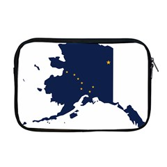 Flag Map Of Alaska Apple Macbook Pro 17  Zipper Case by abbeyz71