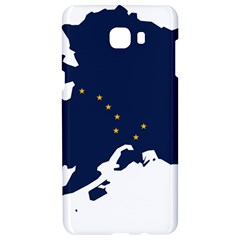 Flag Map Of Alaska Samsung C9 Pro Hardshell Case  by abbeyz71