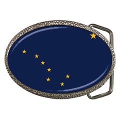 Flag Of Alaska Belt Buckles by abbeyz71
