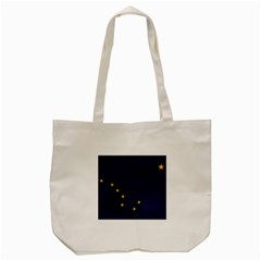Flag Of Alaska Tote Bag (cream)