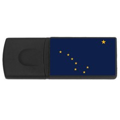 Flag Of Alaska Rectangular Usb Flash Drive