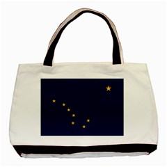 Flag Of Alaska Basic Tote Bag