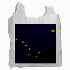 Flag Of Alaska Recycle Bag (one Side) by abbeyz71