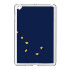 Flag Of Alaska Apple Ipad Mini Case (white) by abbeyz71