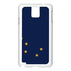 Flag Of Alaska Samsung Galaxy Note 3 N9005 Case (white) by abbeyz71
