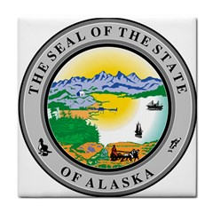 State Seal Of Alaska  Tile Coasters by abbeyz71