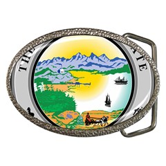 State Seal Of Alaska  Belt Buckles by abbeyz71