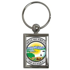 State Seal Of Alaska  Key Chains (rectangle)